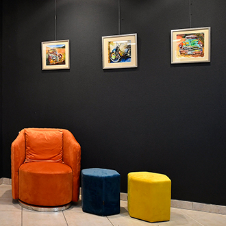 espace exposition de tableaux